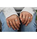 Boho Howlite Ring