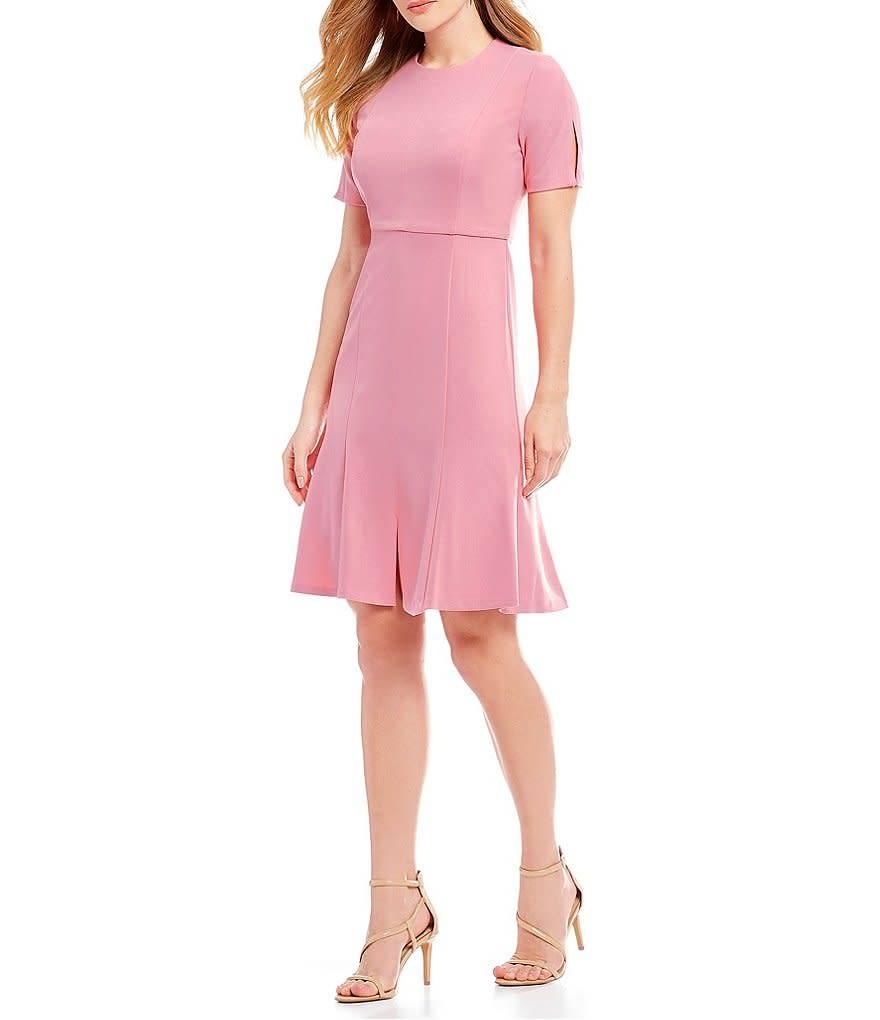 Donna Morgan Leah Pink Dress