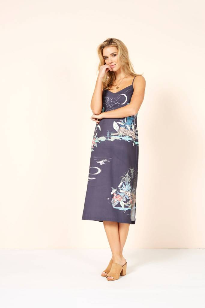 MINKPINK Madagascar Midi  Dress