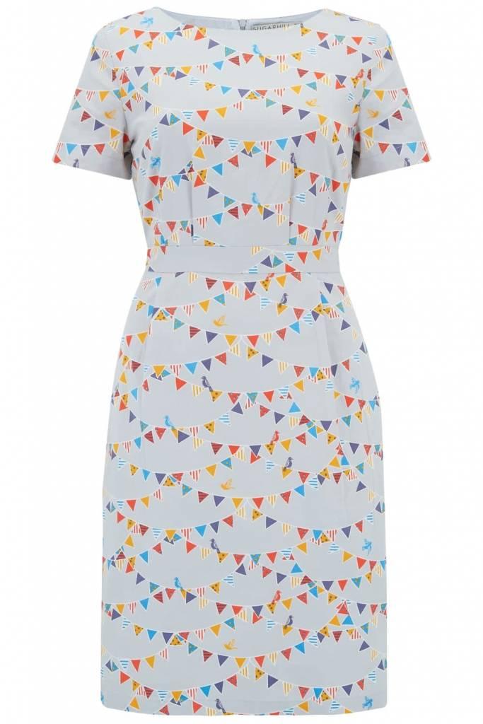 Sugarhill Brighton Rhian Bunting Shift Dress