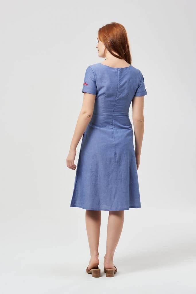 Sugarhill Brighton Jaya Chambray Dress