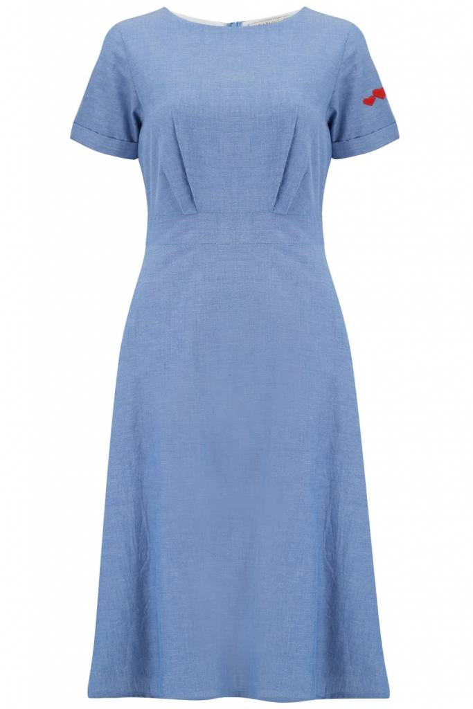 Sugarhill Brighton Jaya Chambray Dress