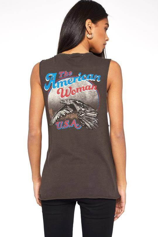 Project Social T American Woman Muscle Tank