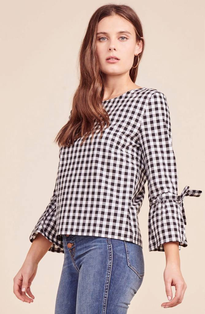 Jack by BB Dakota Seen it All Gingham Top