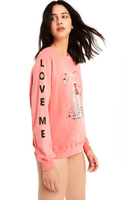 Wildfox Couture Love Me Tender Sommers Sweatshirt