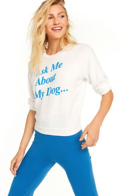 Wildfox Couture My Dog Juniors Sweatshirt