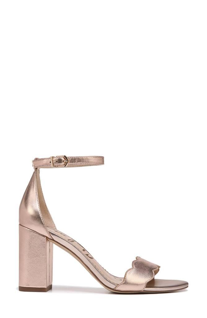 cf1dfb5cd0df5 Odila Rose Gold Sandal - The Shoe Attic
