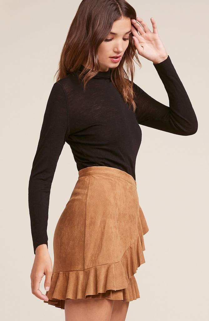 BB Dakota It's a Vibe Wrap Skirt