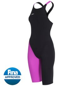 LZR Elite 2 CB Kneeskin Black/ Purple