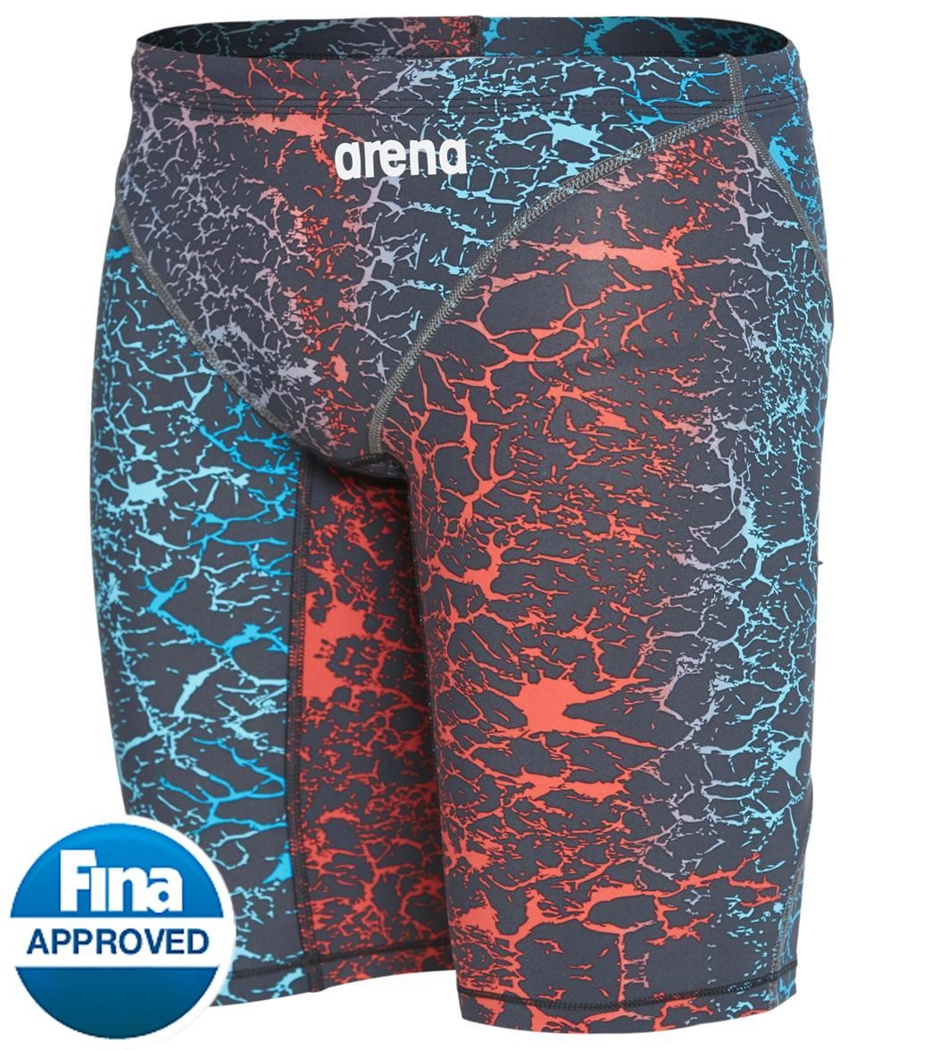 26 arena Powerskin ST 2.0 Jammer Junior Racing Swimsuit Storm Blue//Red