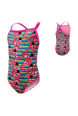 TYR Kids Lovebird Diamondfit Pink/Multi X-Small