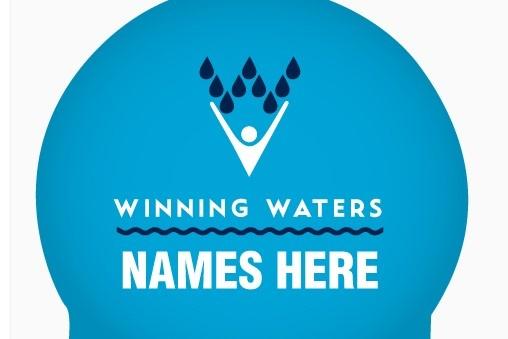 Winning Waters Name Cap-Pack of 2