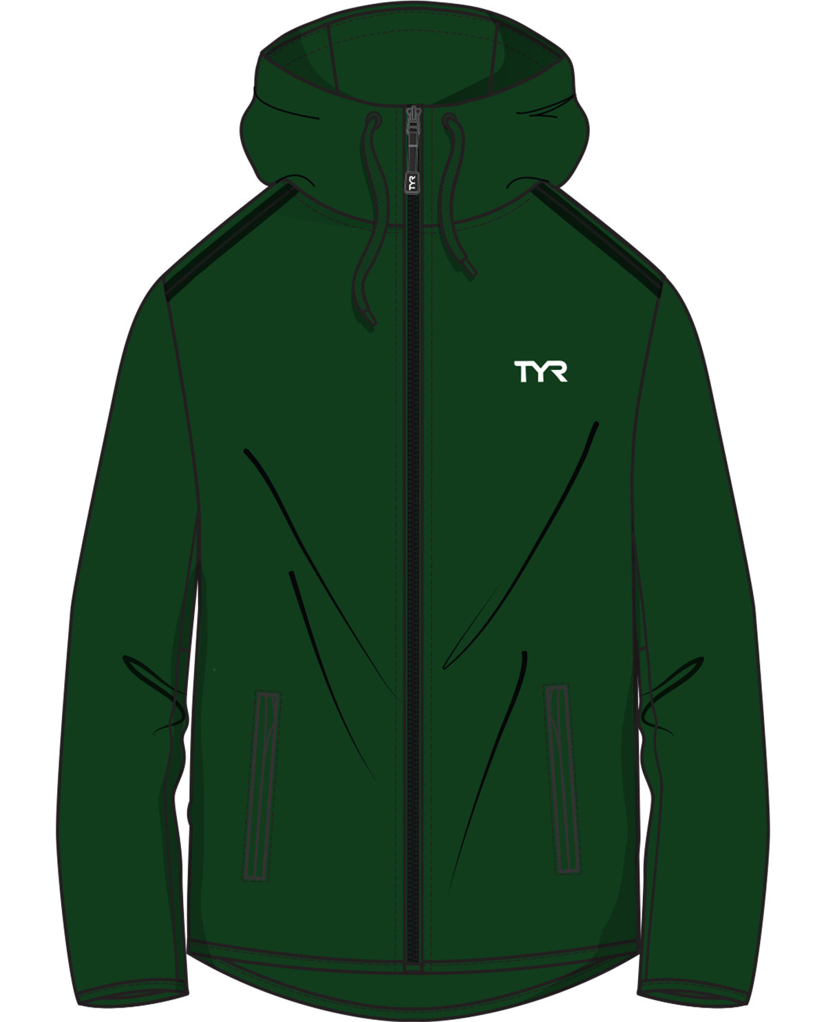 TYR MSC Male Warm Up Jacket