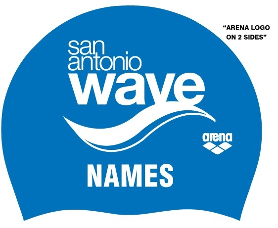 SA Wave Name Caps-Pack of 2