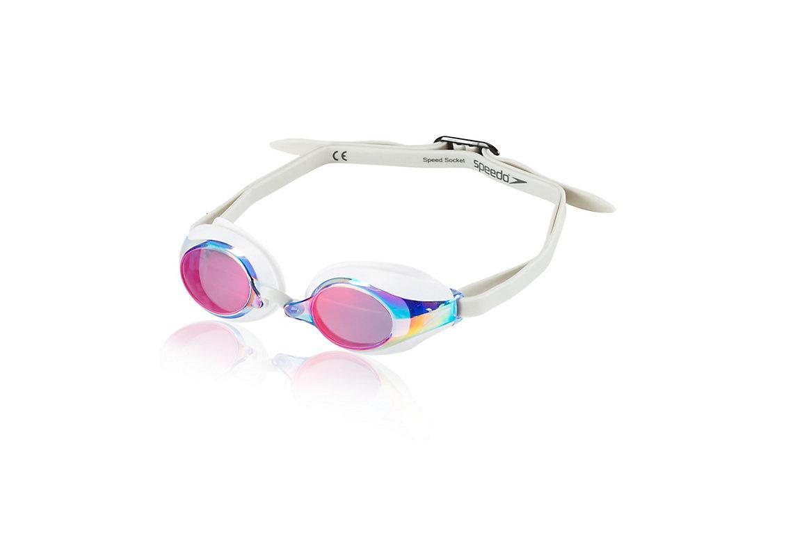 Speedo Speed Socket Polorized Goggle White