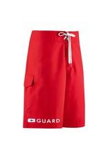 "Speedo Guard 21"" Boardshort/ Red/ 34"