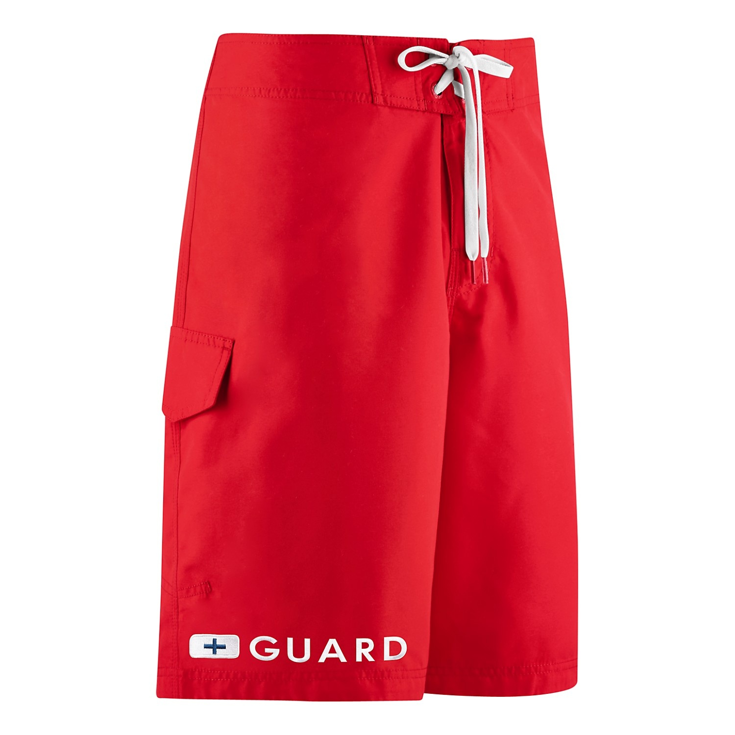 "Speedo Guard 20"" Flex Boardshort/ Red/ Large"