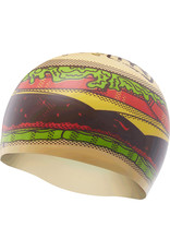 TYR Hamburger Swim Cap