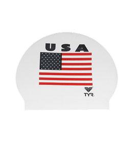 TYR USA PRINT LATEX CAPS