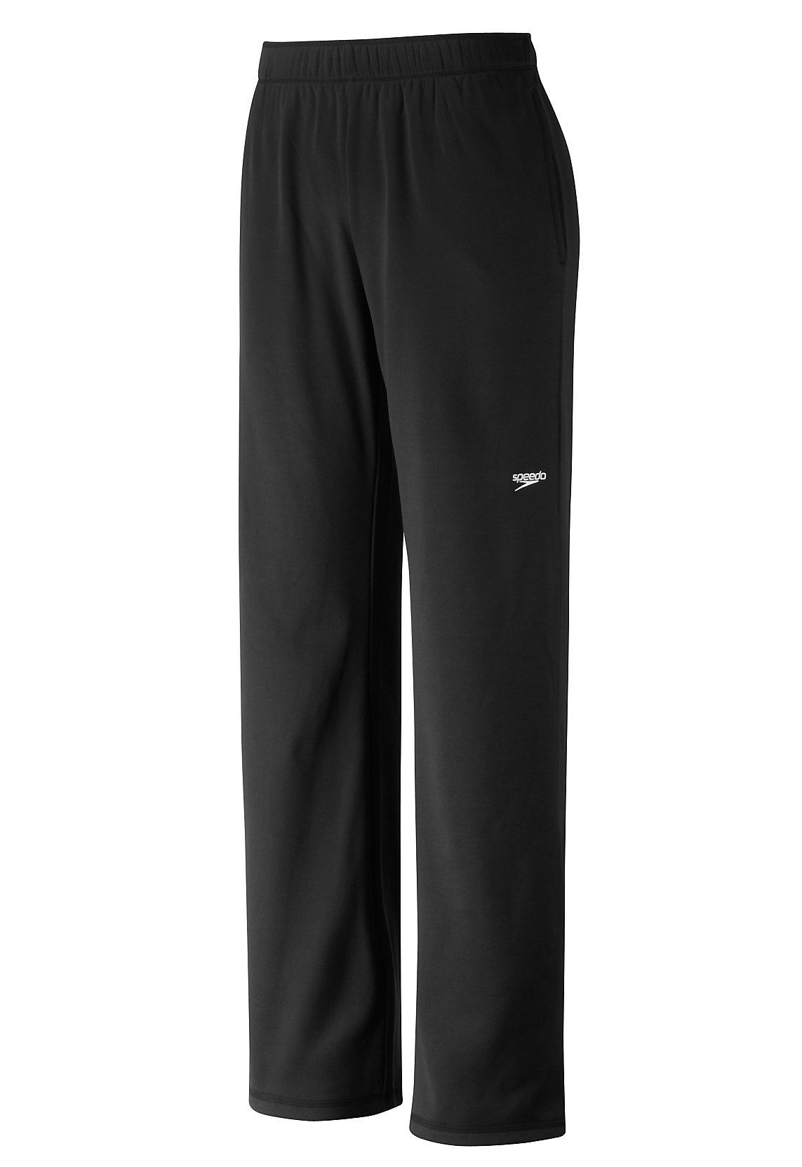 Speedo Youth Streamline Warm Up Pant - Unisex Speedo Black Small