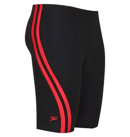 Speedo Quantum Spliced Jammer Black/Red 22