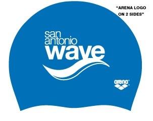 SA WAVE Arena Silicone Cap-Royal