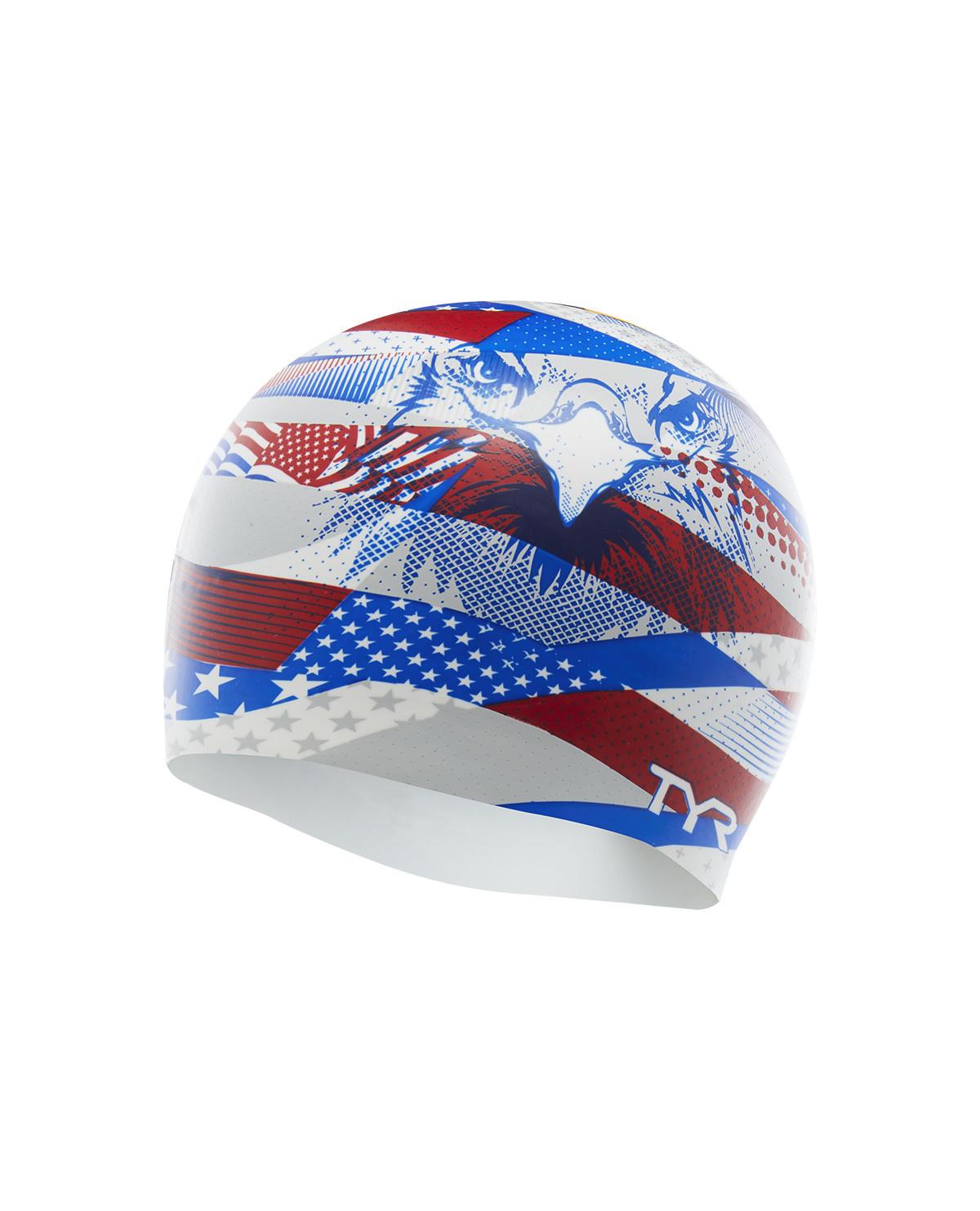 TYR American Eagle Silicone Cap