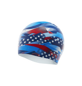 TYR USA Ribbon Silicone Cap