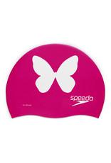 Speedo Silicone Printed Cap