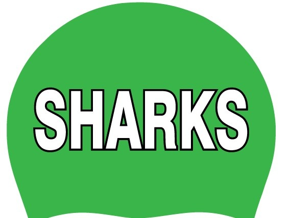Fair Oaks Sharks Silicone Cap-Kelly Green