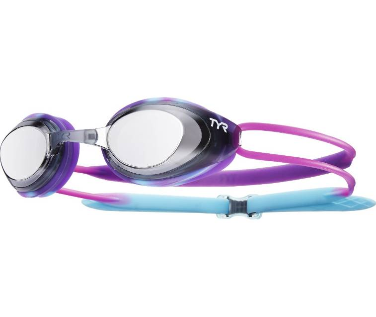 TYR Black Hawk Racing Mirrored Junior Goggle