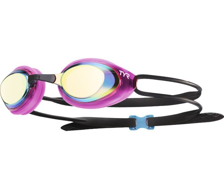 TYR Black Hawk Racing Femme Mirrored Goggle
