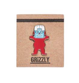 Grizzly Griptape Robo Bear Pin