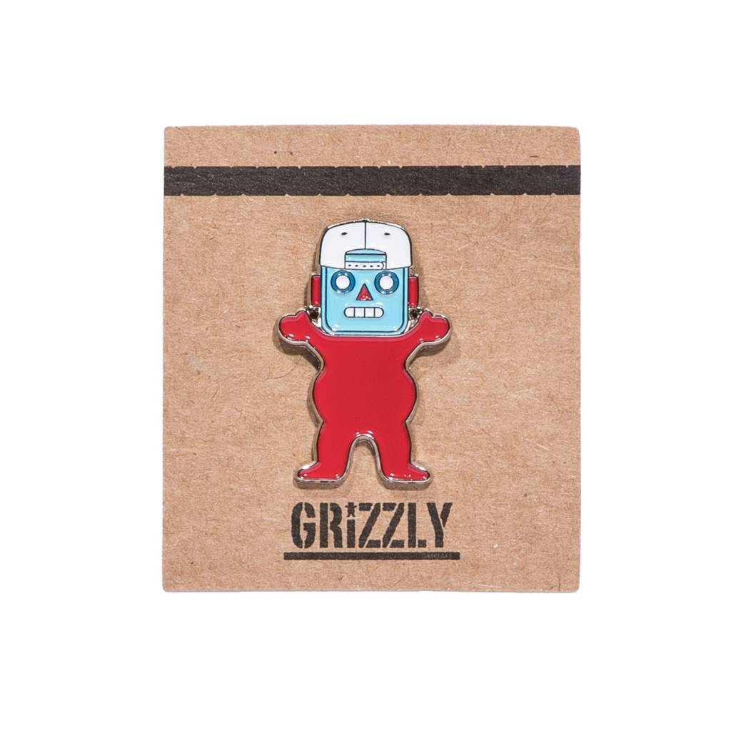Grizzly Griptape Robo Bear Pin