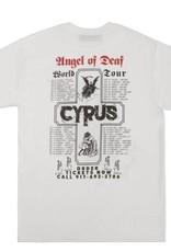 CallMe917 Cyrus Angel Of Deaf Tee White