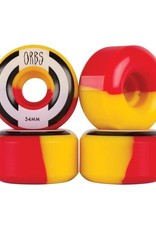 Welcome Skateboards Orbs Apparitions Yellow/Red 54mm