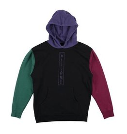 Welcome Skateboards Quadrant Color-Blocked Hoodie Black