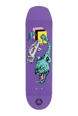 Welcome Skateboards Face of a Lover on Helm of Awe 2.0 Purple Dip 8.38""