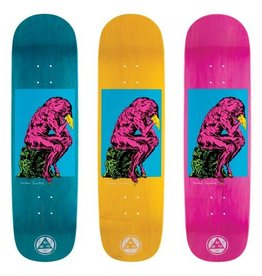 """Welcome Skateboards Crinker on Nibiru Blue/Various Stains 8.75"""""""