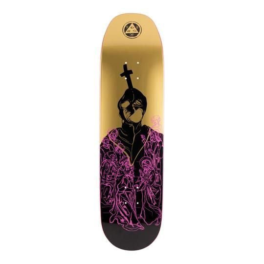"""Welcome Skateboards American Idolatry on Baculus Gold 8.75"""""""