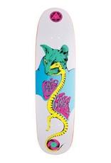 "Welcome Skateboards Miller Lizard Eye on Catblood 2.0 White 8.75"""