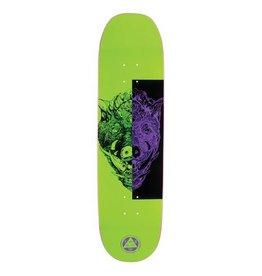 "Welcome Skateboards Hog Wild on Moontrimmer 2.0 Neon Green 8.5"""