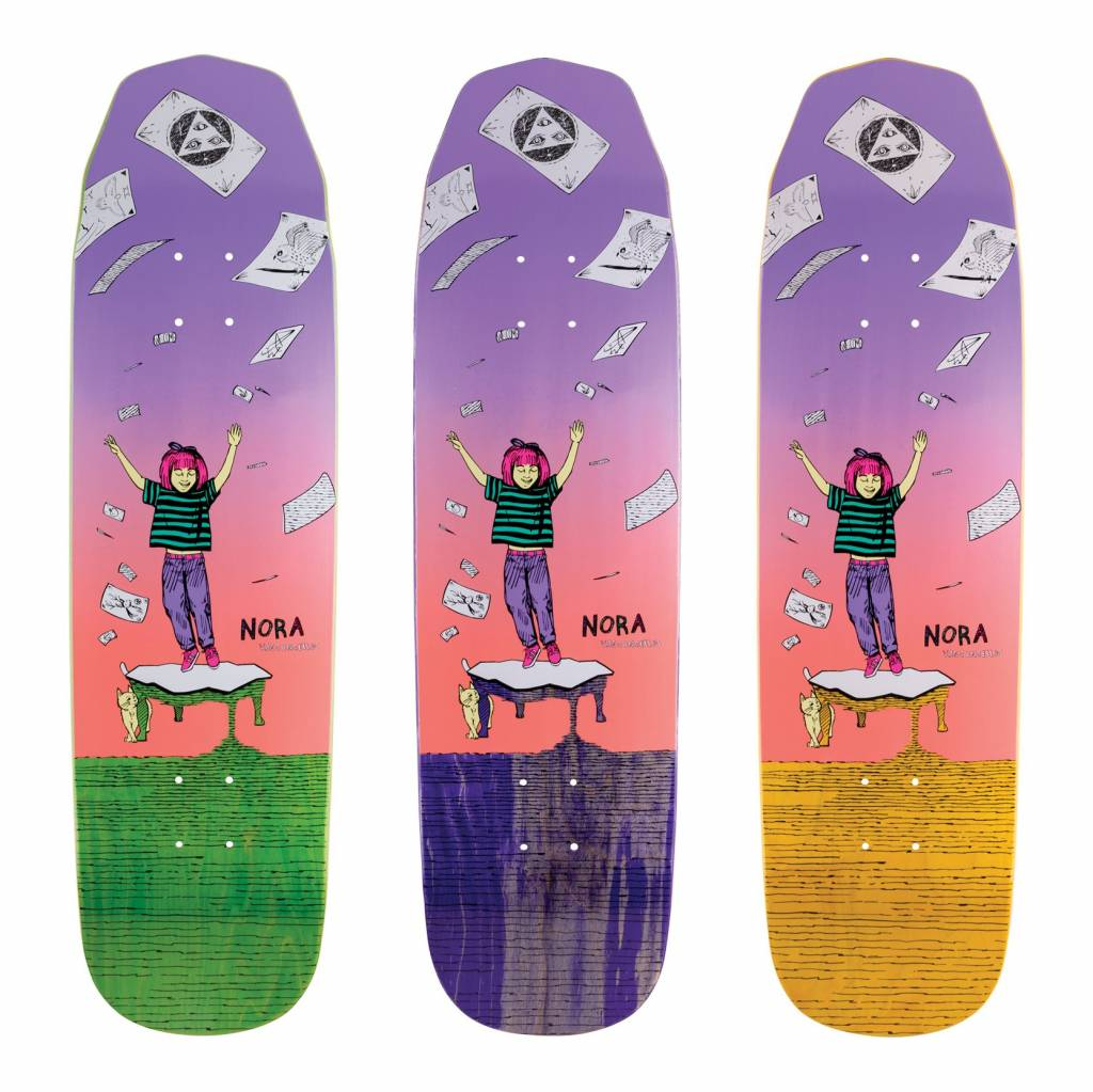 Welcome Skateboards Magilda on Wicked Princess Lavender/Teal 8.125""