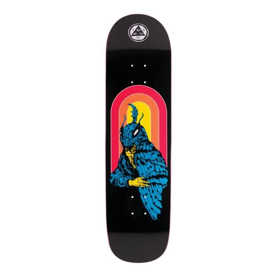 Welcome Skateboards Mothman on Big Bunyip Black 8.5""