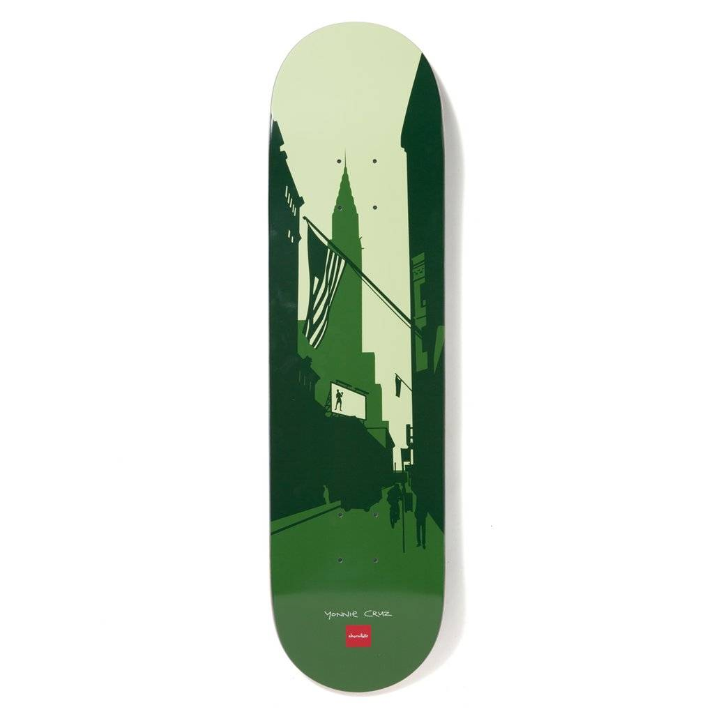 "Chocolate Skateboards Cruz City Series 8.125"""