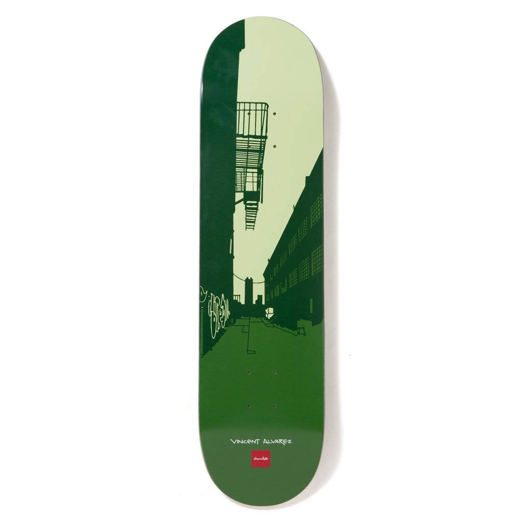 Chocolate Skateboards Alvarez City Series 8.0""