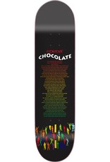 Chocolate Skateboards Eldridge Liner Notes 8.25""
