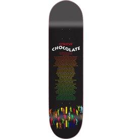 "Chocolate Skateboards Eldridge Liner Notes 8.25"""