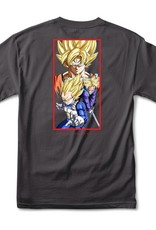 Primitive DBZ Dirty P Charcoal Tee