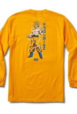 Primitive Super Saiyan Goku LS Gold Tee